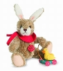 peluche-teddy Ours de collection lapin fils 20 cm