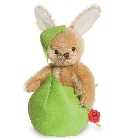 peluche-teddy Lapin de collection Billi et oeuf 16 cm