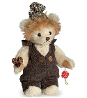 peluche-teddy Ours en peluche de collection Maxi 17 cm