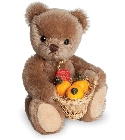 peluche-teddy Ours en peluche de collection Rudi 17 cm