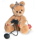 peluche-teddy Ours Teddy de collection pelote 16 cm