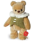 peluche-teddy Ours en peluche de collection Chris 15 cm