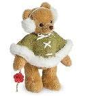 peluche-teddy Ours en peluche de collection Susi 18 cm