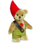 peluche-teddy Ours teddy de collection Wichtel 17 cm