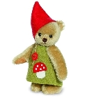 peluche-teddy Ours teddy de collection Witcheline 17 cm