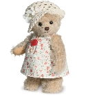 peluche-teddy Ours teddy de collection Emilia 22 cm