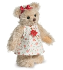 peluche-teddy Ours teddy de collection Emma 17 cm
