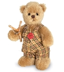 peluche-teddy Ours de collection Nico 20 cm