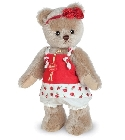 peluche-teddy Ours de collection Katinka 23 cm