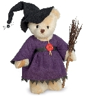 peluche-teddy Ours de collection Halloween 22 cm