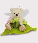 peluche-teddy Ours Teddy de collection Elfe nature 13 c...
