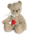 peluche-teddy Ours teddy de collection Beppi 15 cm
