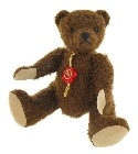 peluche-teddy Peluche de collection Ourson Chocolate 20 cm