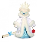 peluche-teddy Ours teddy de collection Reine des neiges