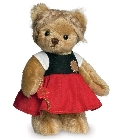 peluche-teddy Ours de collection Gretel 17 cm