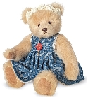 peluche-teddy Ours de collection Abigail 30 cm