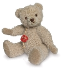 peluche-teddy Ours de collection sable en alpaga 19 cm