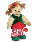 peluche-teddy Ours Teddy de collection Karolin 25 cm