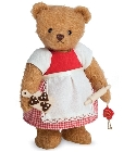peluche-teddy Ours de collection boulanger avec cookies 23