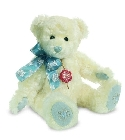 peluche-teddy Peluche Ours de collection flocon de neige 30 cm