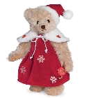 peluche-teddy Ours Teddy de collection Noël 27 cm