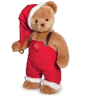 peluche-teddy Ours de collection de Noël William 53 cm