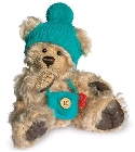 peluche-teddy Ours de collection suce pouce blond 18 cm