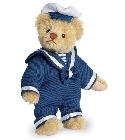 peluche-teddy Ours de collection miniature Marin 11 cm