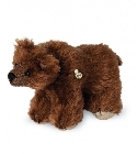 peluche-teddy Ours de collection grizzli miniature 10 cm