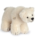 peluche-teddy Ours de collection polaire miniature 10 cm