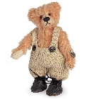 peluche-teddy Ours de collection miniature Klausi 10 cm