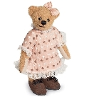 peluche-teddy Ours de collection Evelyn 16 cm
