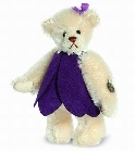 peluche-teddy Ours teddy de collection Crocus 9 cm