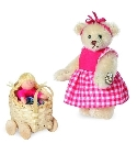 peluche-teddy Peluche Ours teddy de collection Klara