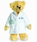 peluche-teddy Ours teddy de collection Dr Bear 9 cm