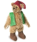 peluche-teddy Ours de collection gnome des bois 9 cm