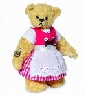 peluche-teddy Ours teddy de collection Zilli 9 cm