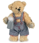 peluche-teddy Ours de collection Andi 9 cm