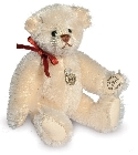 peluche-teddy Ours de collection Teddy crème 9 cm
