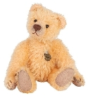 peluche-teddy Ours Teddy de collection Antique abricot