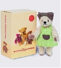 peluche-teddy Ours Teddy de collection Minna 11 cm