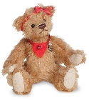 peluche-teddy Ours de collection Ella 11 cm