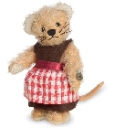 peluche-teddy Peluche de collection souris fille 10 cm