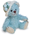 peluche-teddy Ours de collection Bluebell 9 cm