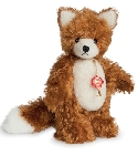 peluche-teddy Peluche de collection renard roux 17 cm
