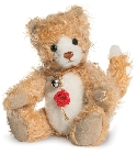 peluche-teddy Ours teddy de collection Maunzi 19 cm