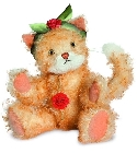 peluche-teddy Ours de collection chat Mimi 26 cm