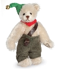 peluche-teddy Ours de collection miniature Wichtel 9 cm