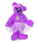 peluche-teddy Peluche Ours teddy de collection Irina 9 cm