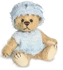 peluche-teddy Ours de collection Baby bleu 9 cm